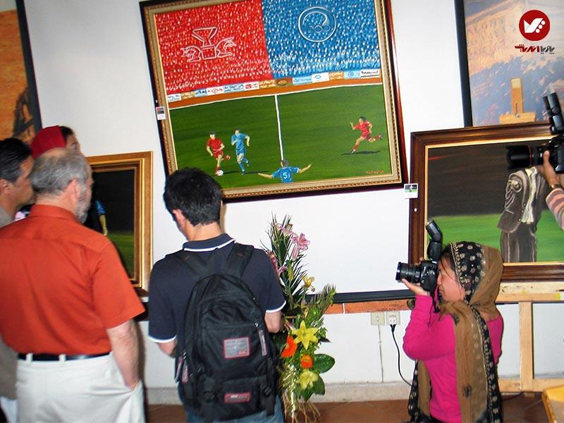 pouyaandish 4 - نمایشگاه آثار هنری همسر افشین قطبی ( یوروم ) در پویا اندیش
