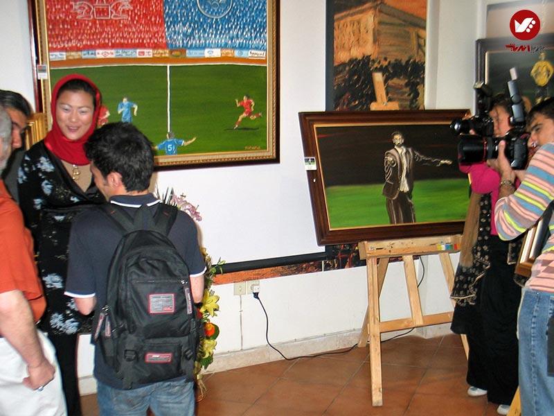 pouyaandish 40 - نمایشگاه آثار هنری همسر افشین قطبی ( یوروم ) در پویا اندیش