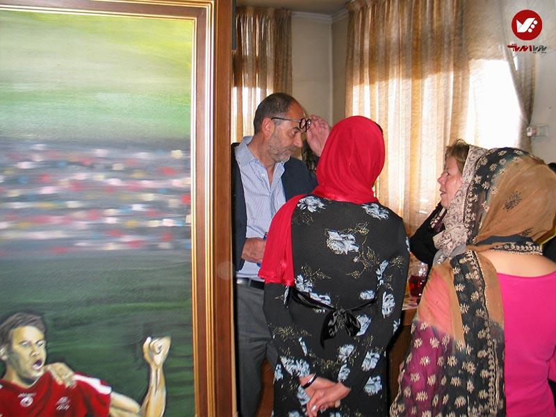 pouyaandish 8 - نمایشگاه آثار هنری همسر افشین قطبی ( یوروم ) در پویا اندیش
