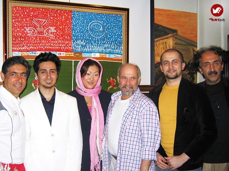 tasvirgaran pouya andish 23 - نمایشگاه آثار هنری همسر افشین قطبی ( یوروم ) در پویا اندیش