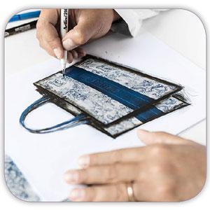 bag design amoozesh tarahi kif shakhes - عناصر ارگانیک در طراحی دکوراسیون