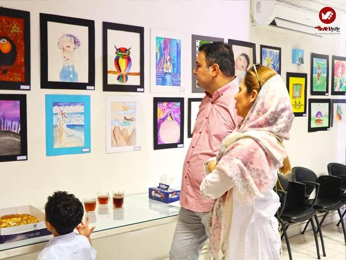 kids namayeshgah koodakan naghashi ax 16 - آموزش نقاشی کودکان