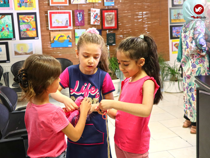 kids namayeshgah koodakan naghashi ax 2 - آموزش نقاشی کودکان