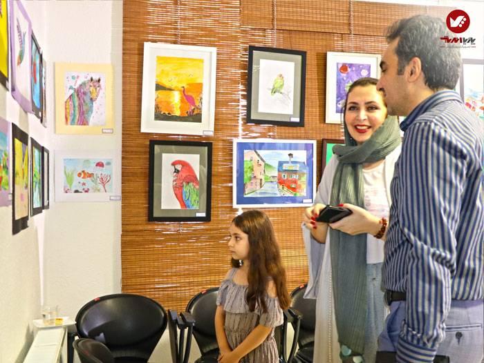 kids namayeshgah koodakan naghashi ax 25 - آموزش نقاشی کودکان