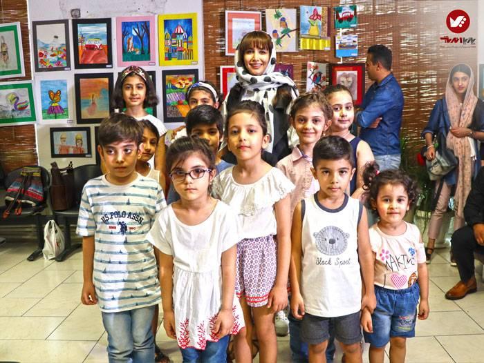 kids namayeshgah koodakan naghashi ax 27 - آموزش نقاشی کودکان