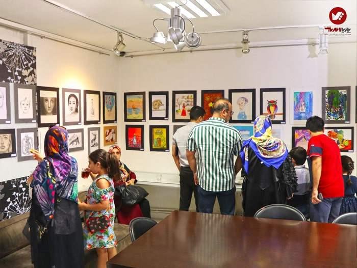 kids namayeshgah koodakan naghashi ax 5 - آموزش نقاشی کودکان