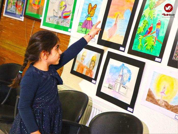 kids namayeshgah koodakan naghashi ax 7 - آموزش نقاشی کودکان