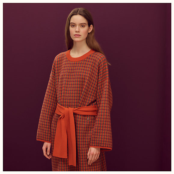 removable collar dress 992501DC2K worn 6 50 0 579 579 b - هرمس | Hermès