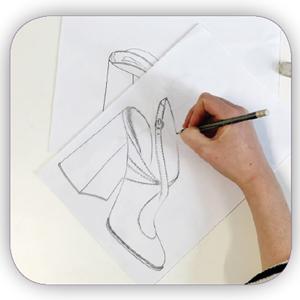 shoe design tarahi kafsh pouyaandish slider background shakhes - طراحی کفش