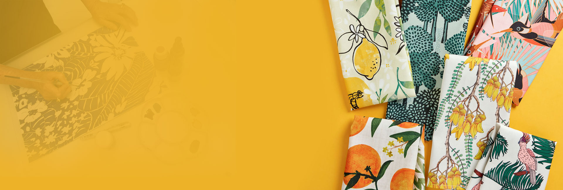 tarahi parche textile illustrator 1 amoozesh pouyaandish - طراحی پارچه