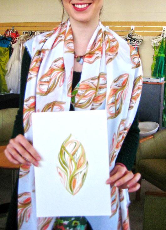 tarahi parche textile illustrator 3 amoozesh pouyaandish - طراحی پارچه