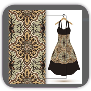 textile illustrator tarahi parche 6 shakhes - طراحی پارچه با نرم افزار