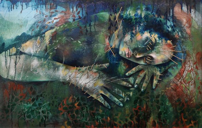 حسنی - گالری های هنری مهر ماه 98