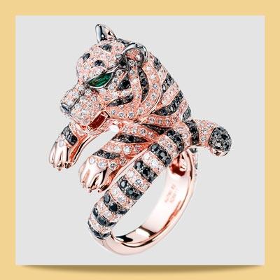 Boucheron 7 - برندهای مطرحی که با استفاده از سمبل حیوانات در جواهرسازی غوغا به پا کردند