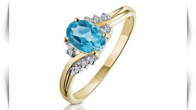 معنی رنگ سنگ های آبی در انگشتر