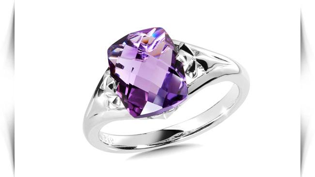 معنی رنگ سنگ های بنفش در انگشتر