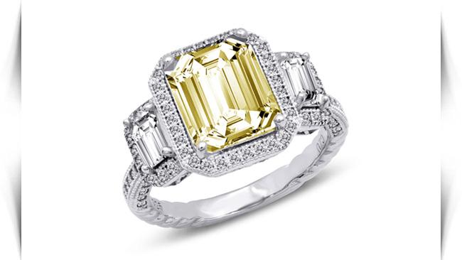 معنی رنگ سنگ های زرد در انگشتر
