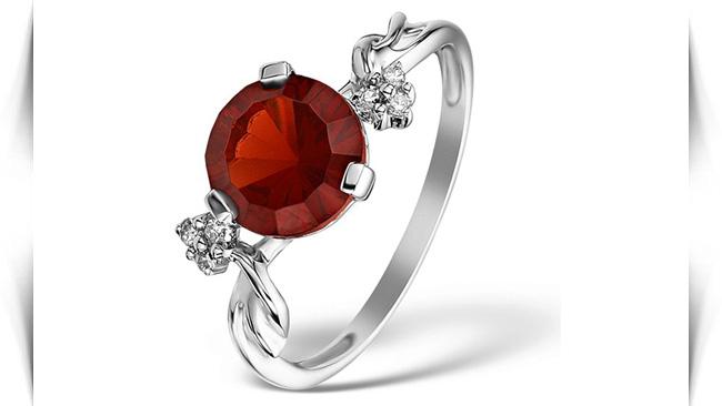 معنی رنگ سنگ های قرمز در انگشتر