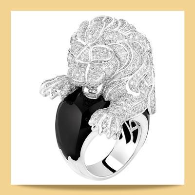 chanel lion 4 - برندهای مطرحی که با استفاده از سمبل حیوانات در جواهرسازی غوغا به پا کردند