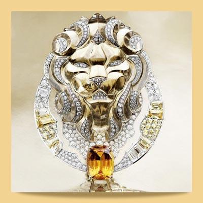 chanel lion 5 - برندهای مطرحی که با استفاده از سمبل حیوانات در جواهرسازی غوغا به پا کردند