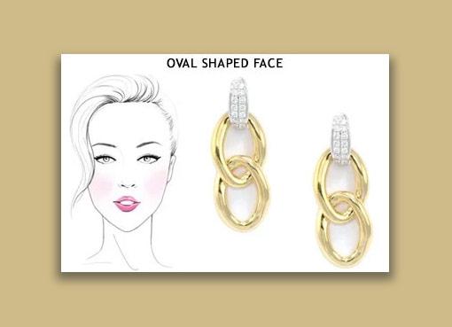 earrings for your face shape - تاثیرات گوشواره در زیباتر جلوه دادن صورت