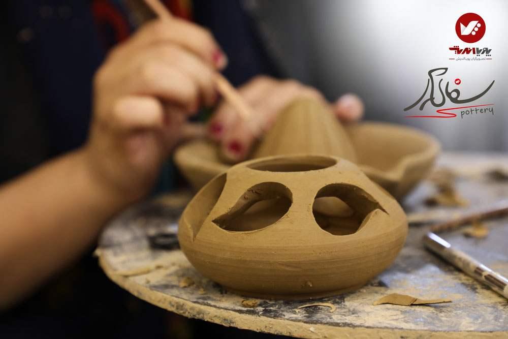 sofalgari site pouyaandish 4 pottery 4 - سفالگری