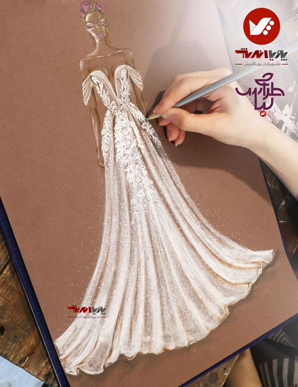 tarahilebas 39 dress amoozesh pouyaandish 25 - آموزش طراحی لباس
