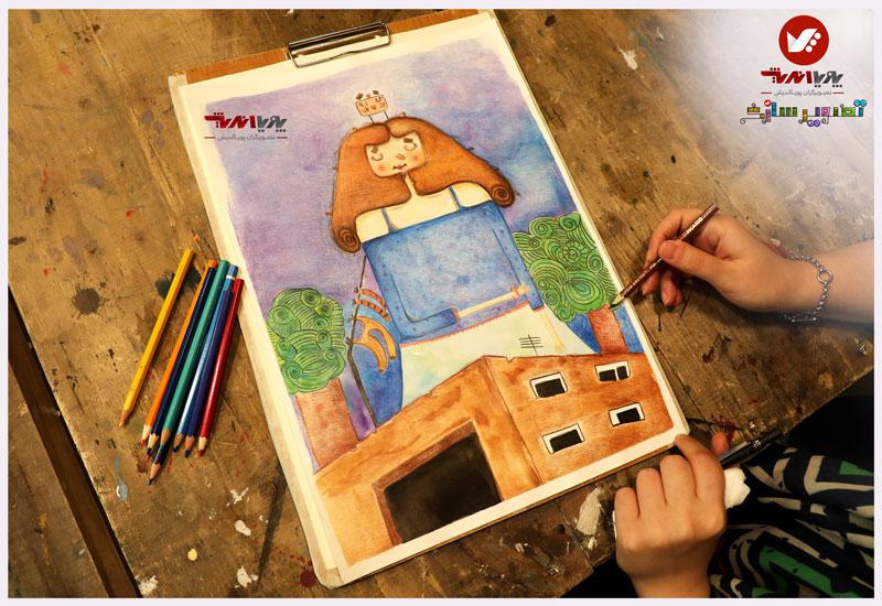 tasvirsazi 9 illustrator tasvirsazi mosahebe pouyaandish  1 - تصویرسازی