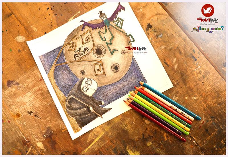 tasvirsazi 9 illustrator tasvirsazi mosahebe pouyaandish  6 - تصویرسازی