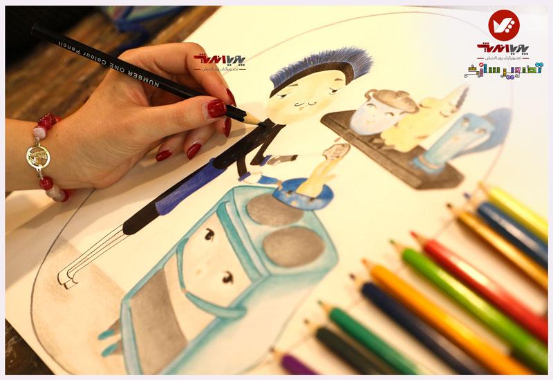 tasvirsazi 9 illustrator tasvirsazi mosahebe pouyaandish  8 - تصویرسازی