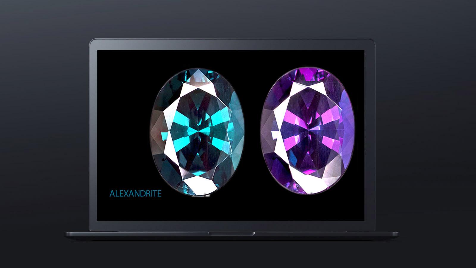 10 worlds rarest gemstones ALEXANDRITE 2jpg - ده گوهر کمیاب دنیا کدامند؟