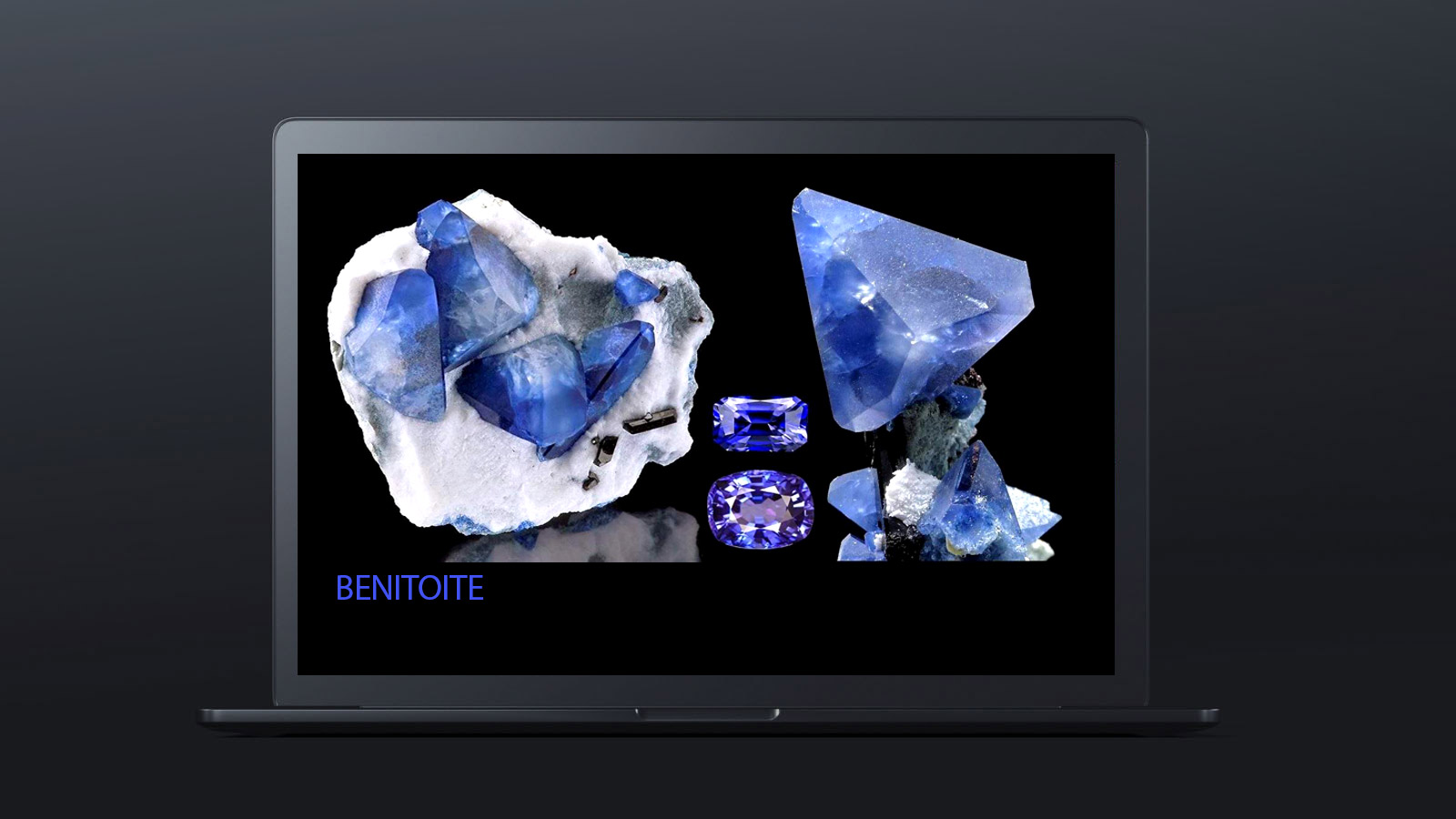 10 worlds rarest gemstones BENITOITE 1 - ده گوهر کمیاب دنیا کدامند؟