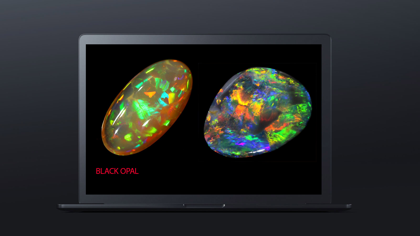 10 worlds rarest gemstones BLACK OPAL 2 - ده گوهر کمیاب دنیا کدامند؟