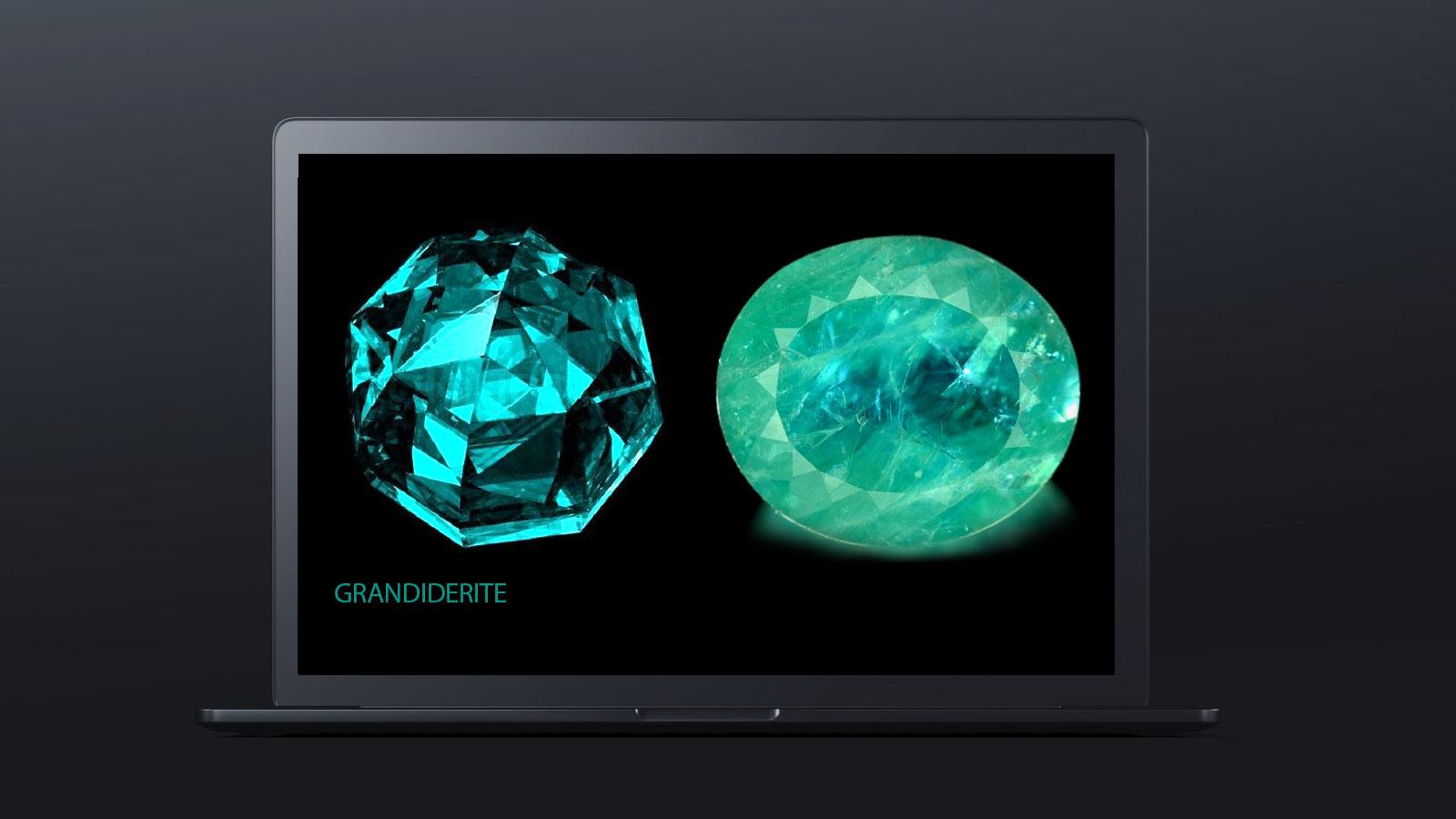 10 worlds rarest gemstones GRANDIDERITE 2 - ده گوهر کمیاب دنیا کدامند؟