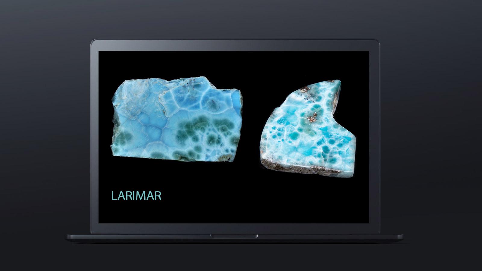 10 worlds rarest gemstones LARIMAR 2 - ده گوهر کمیاب دنیا کدامند؟