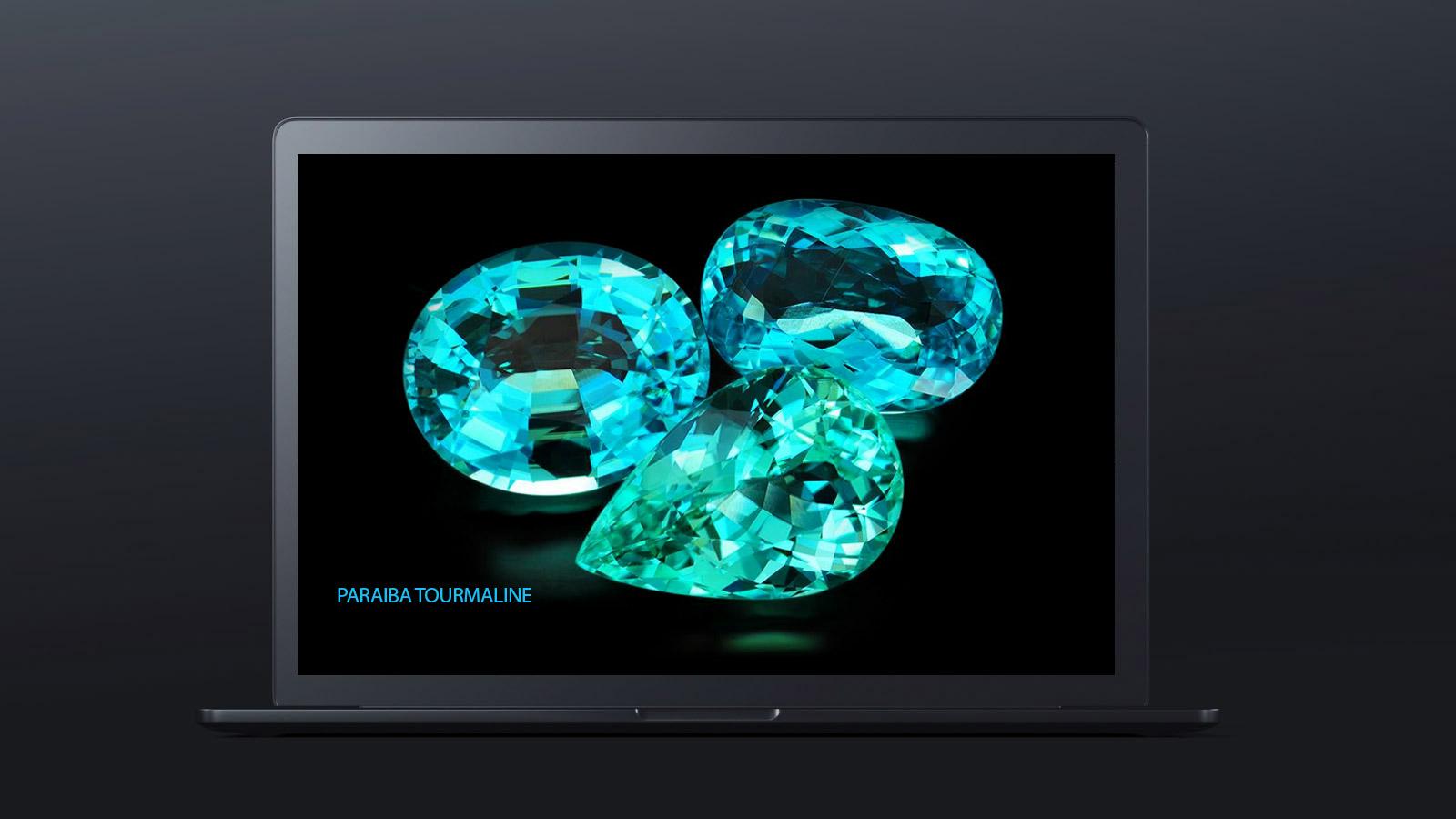 10 worlds rarest gemstones PARAIBA TOURMALINE 1 - ده گوهر کمیاب دنیا کدامند؟
