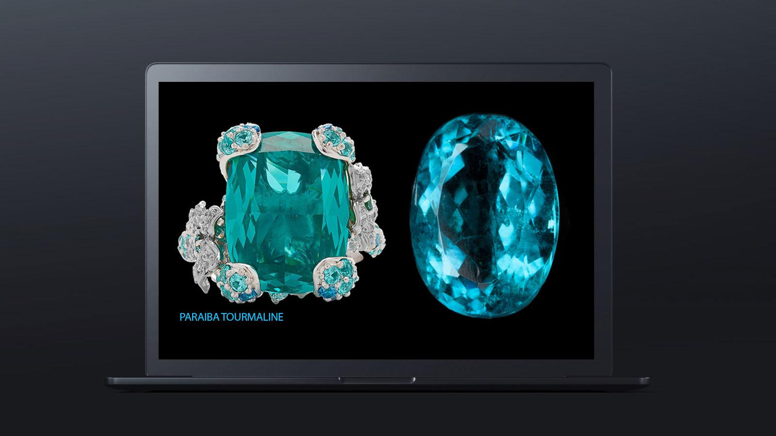10 worlds rarest gemstones PARAIBA TOURMALINE 2 - ده گوهر کمیاب دنیا کدامند؟