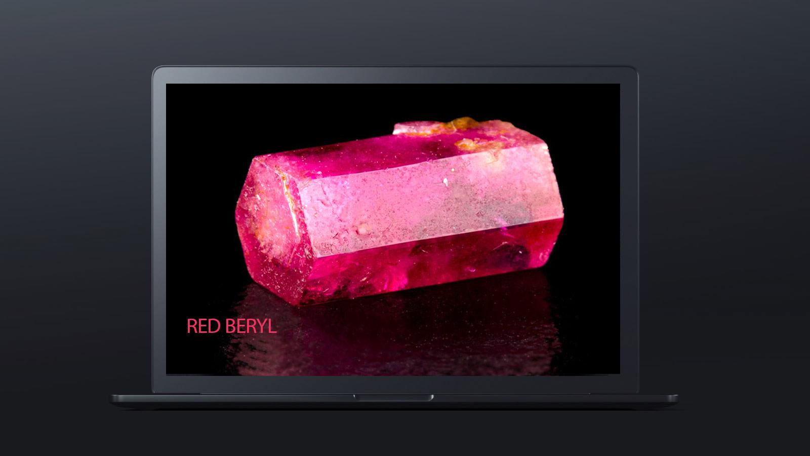 10 worlds rarest gemstones RED BERYL 1 - ده گوهر کمیاب دنیا کدامند؟