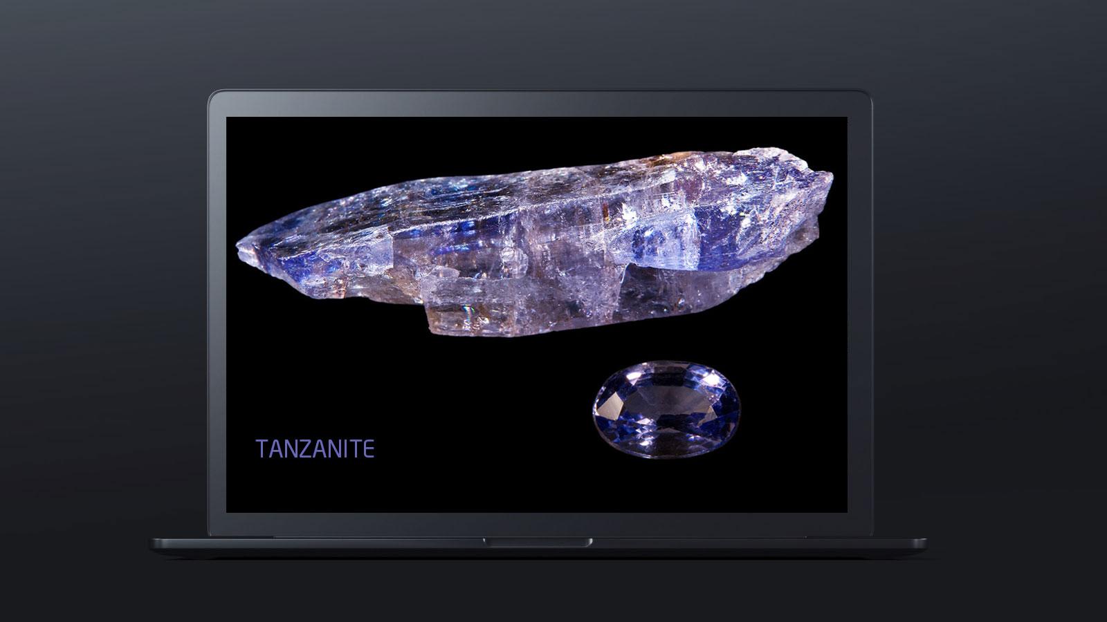 10 worlds rarest gemstones TANZANITE  - ده گوهر کمیاب دنیا کدامند؟