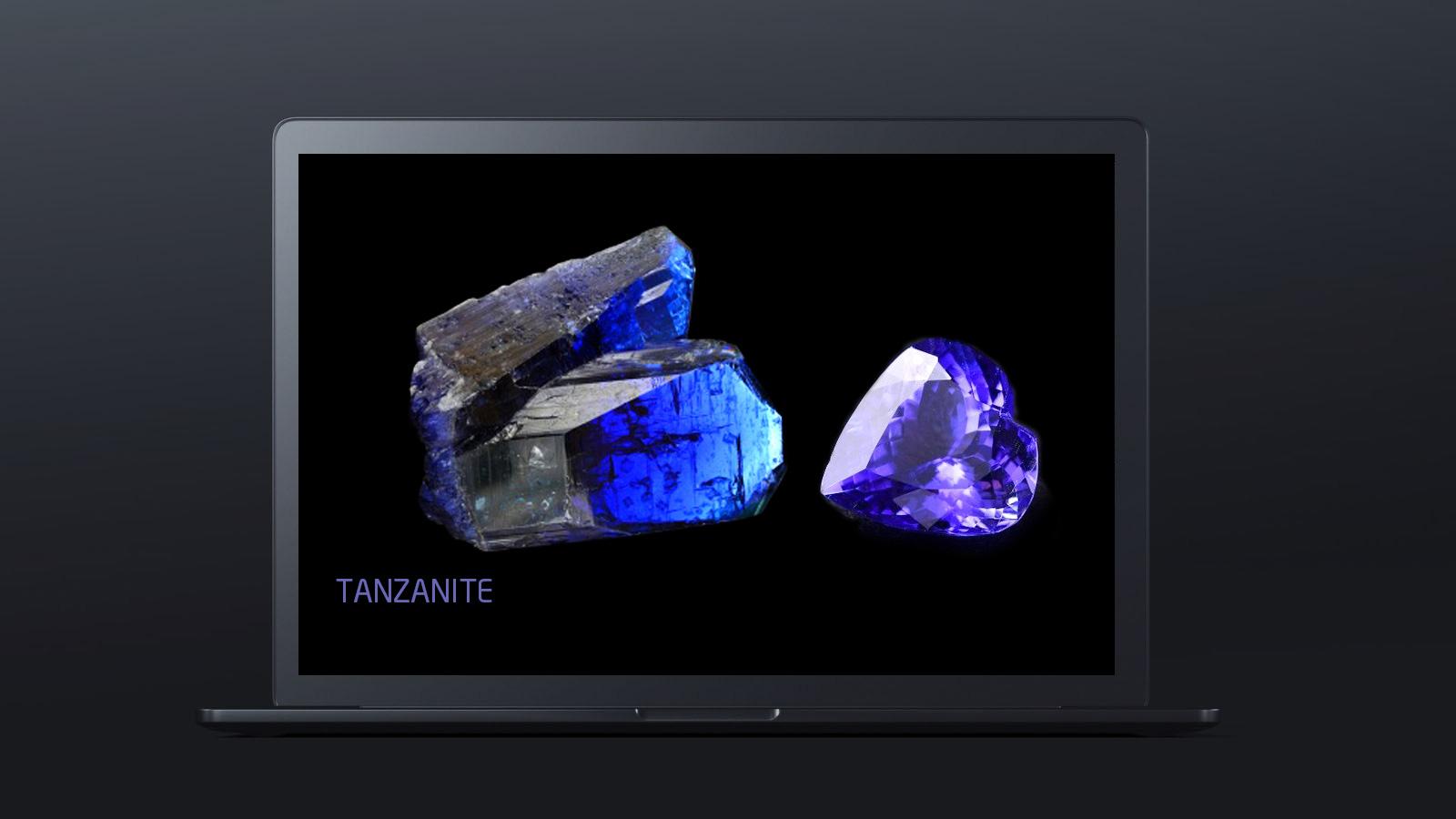 10 worlds rarest gemstones TANZANITE 2  - ده گوهر کمیاب دنیا کدامند؟
