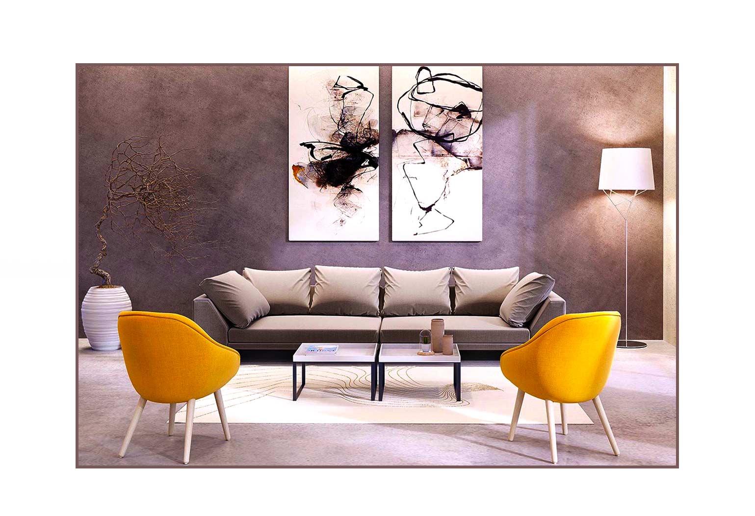 Design An Art centric Room01jpg - چگونه یک اتاق هنری را طراحی کنیم؟