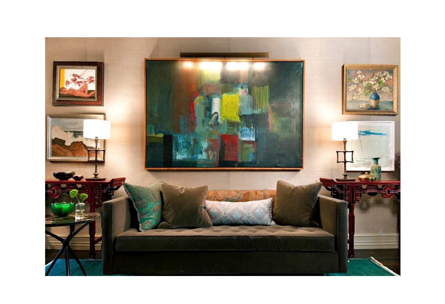 Design An Art centric Room02jpg - چگونه یک اتاق هنری را طراحی کنیم؟