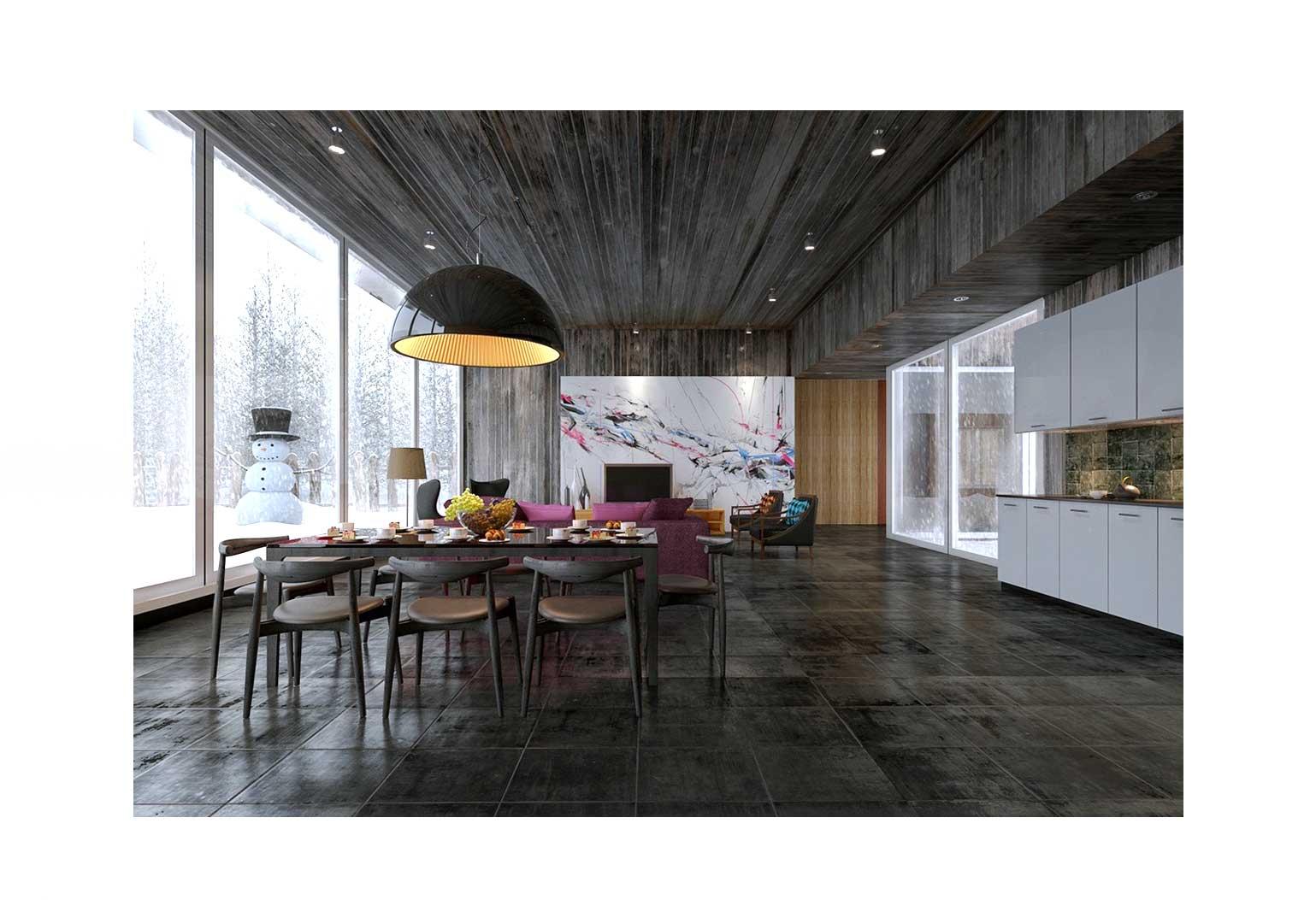 Design An Art centric Room049g - چگونه یک اتاق هنری را طراحی کنیم؟