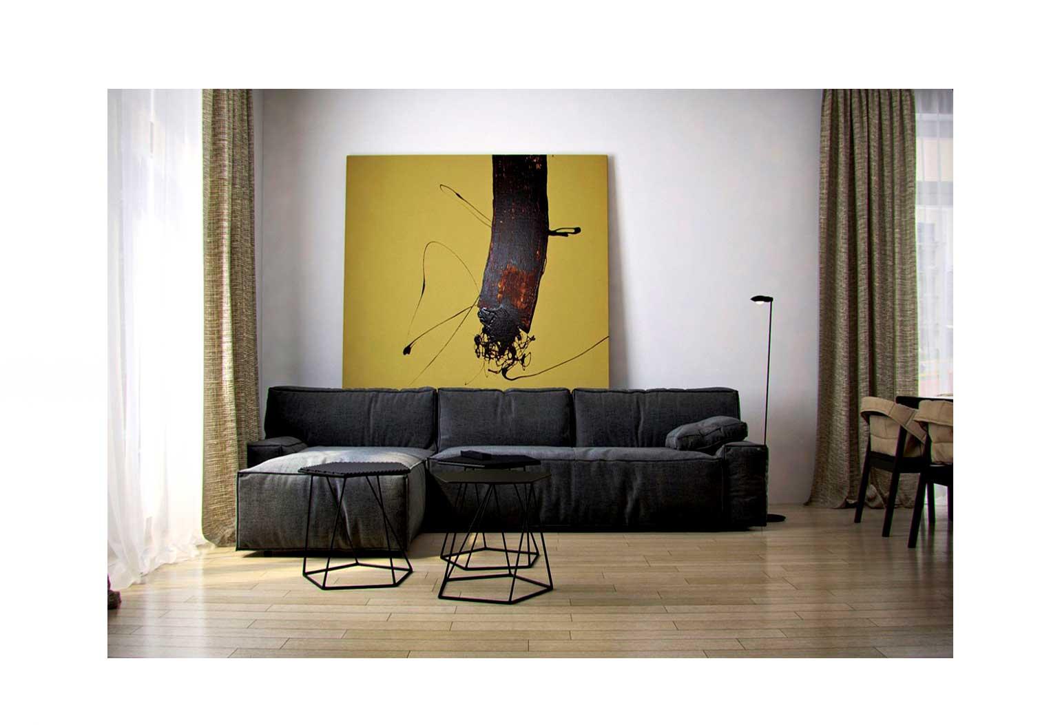 Design An Art centric Room06jpg - چگونه یک اتاق هنری را طراحی کنیم؟