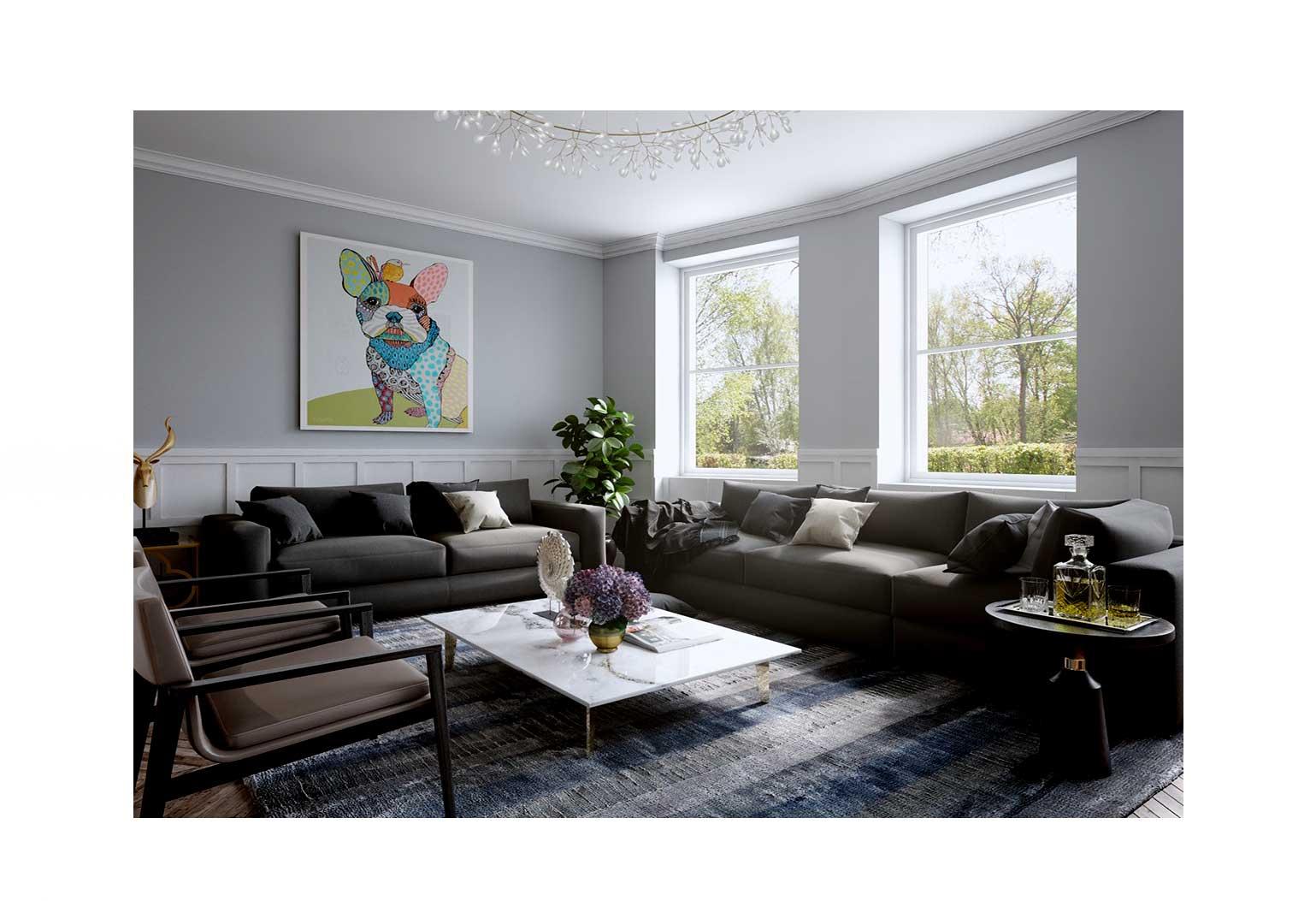 Design An Art centric Room08jpg - چگونه یک اتاق هنری را طراحی کنیم؟
