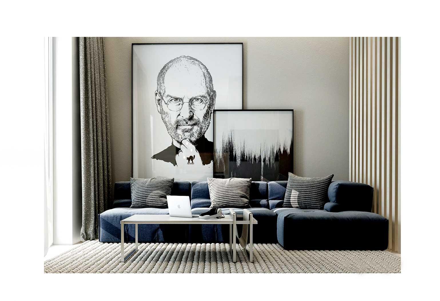 Design An Art centric Room099 - چگونه یک اتاق هنری را طراحی کنیم؟