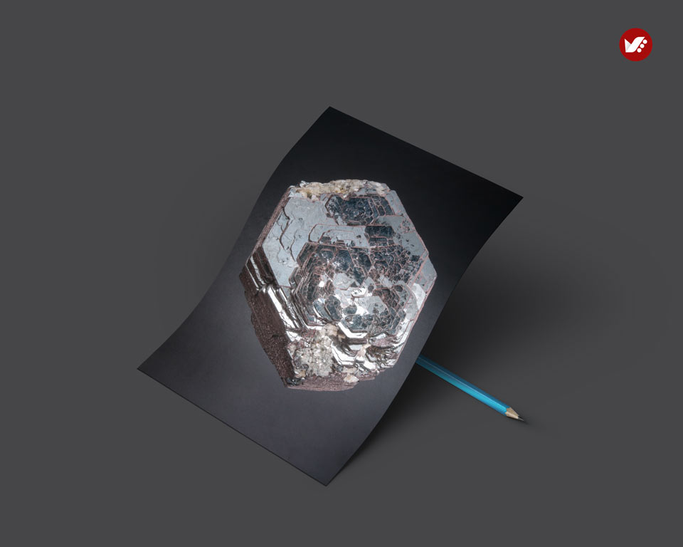 Hematite gemstone - اثر کریستال ها در واستو