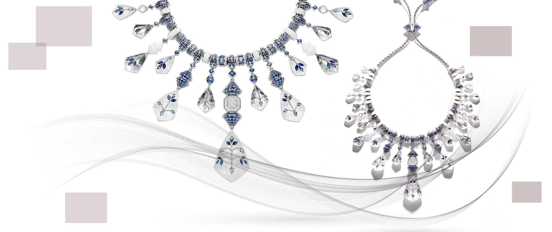 Jewellery designers 012 1 - استفاده از مواد اولیه غیر متعارف در جواهر سازی