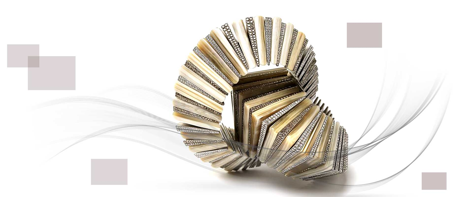 Jewellery designers 09 1 - استفاده از مواد اولیه غیر متعارف در جواهر سازی