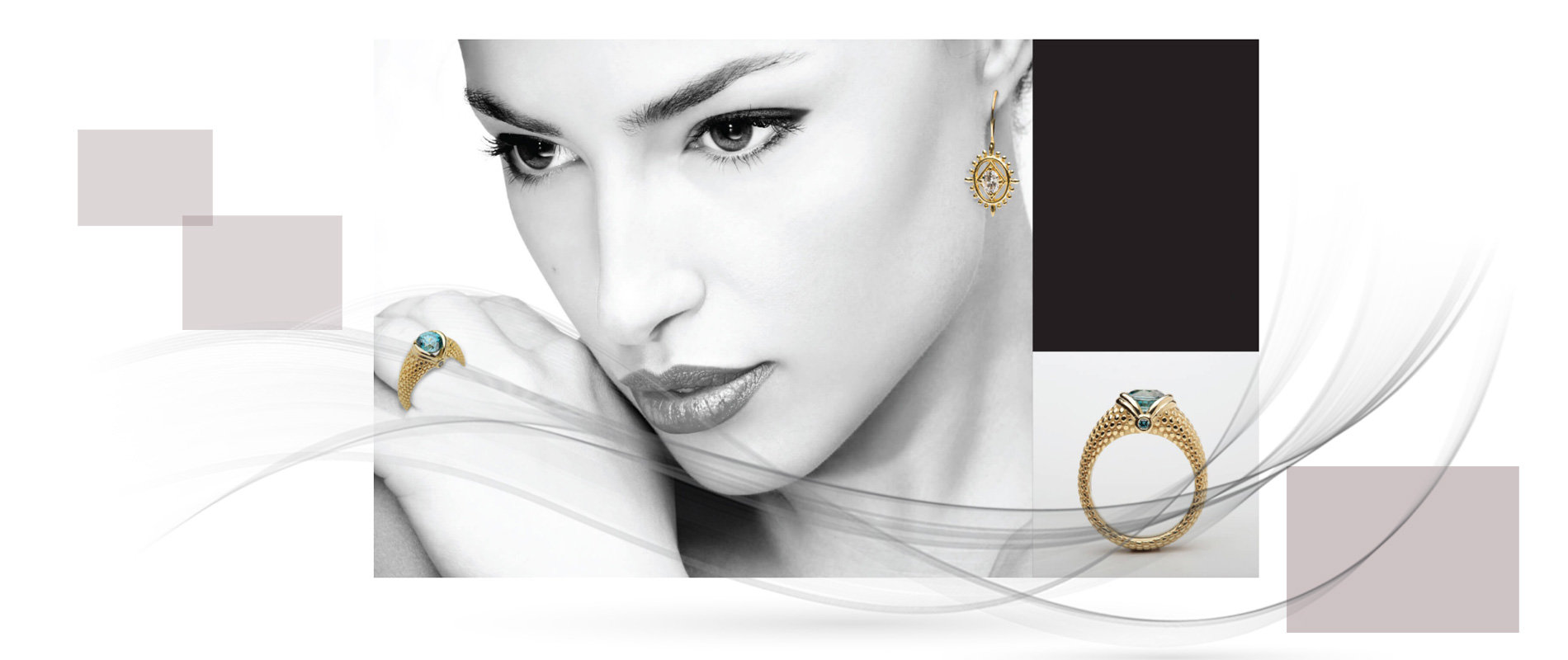 Jewellery designers 3 1 - استفاده از مواد اولیه غیر متعارف در جواهر سازی